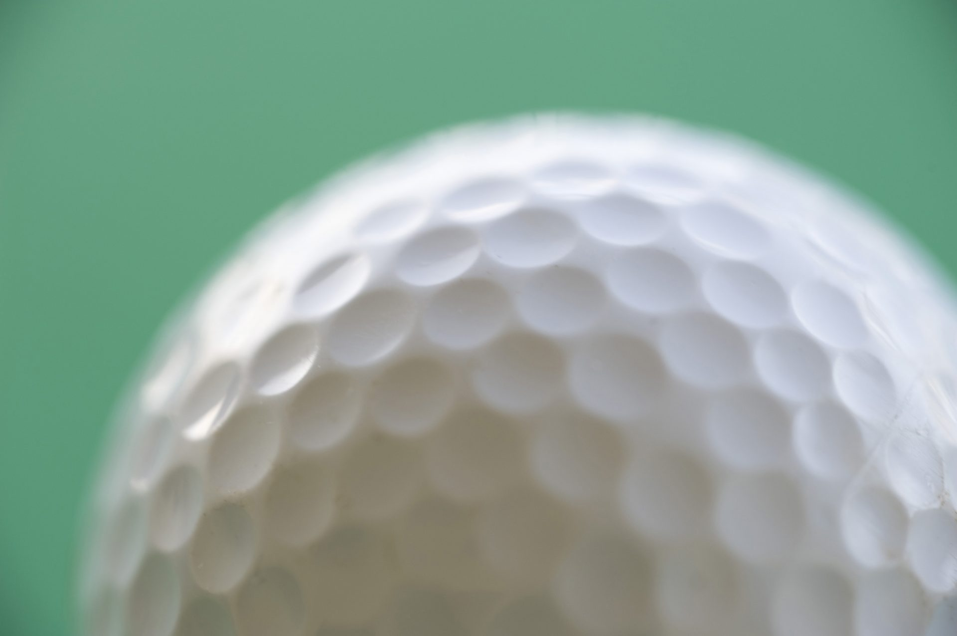 The Dimples On Golf Balls