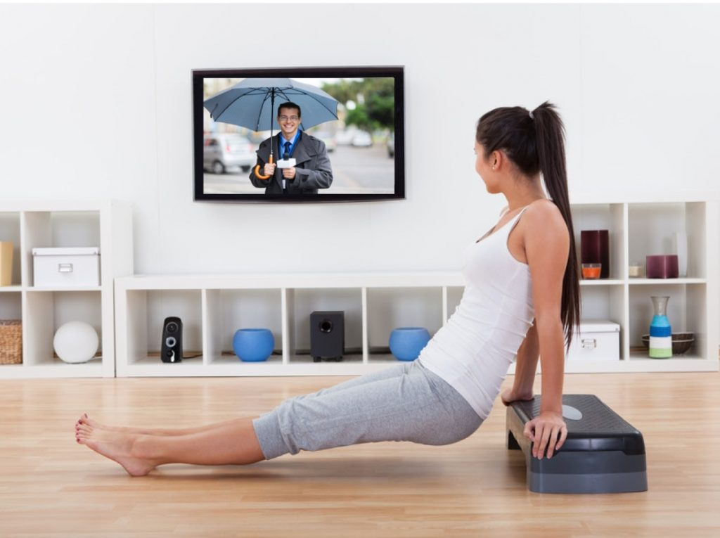 Work Out As You Watch TV