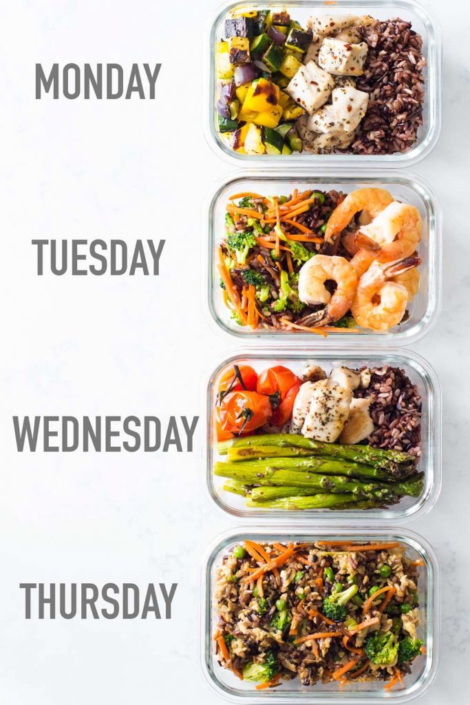 Save Time By Doing Meal Prep