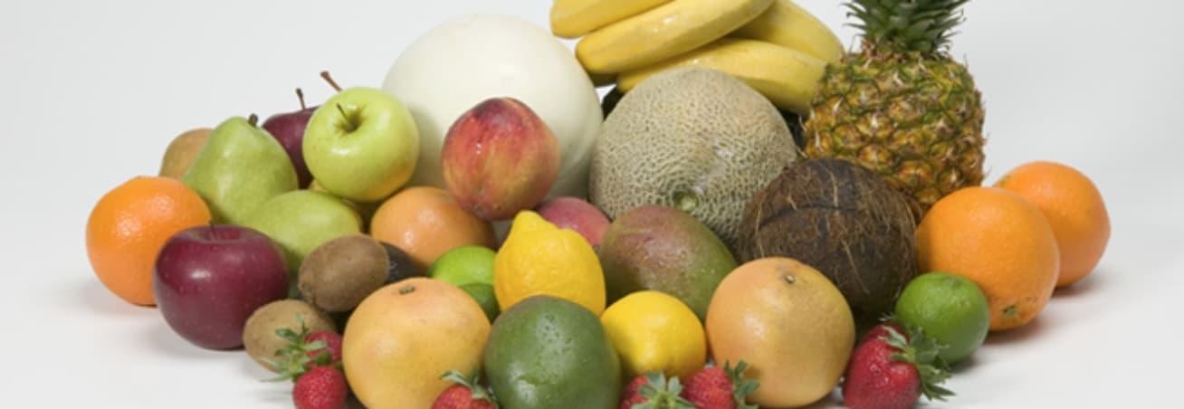Kayısı, Kivi, Şeftali Ve Mango Gibi Meyveler