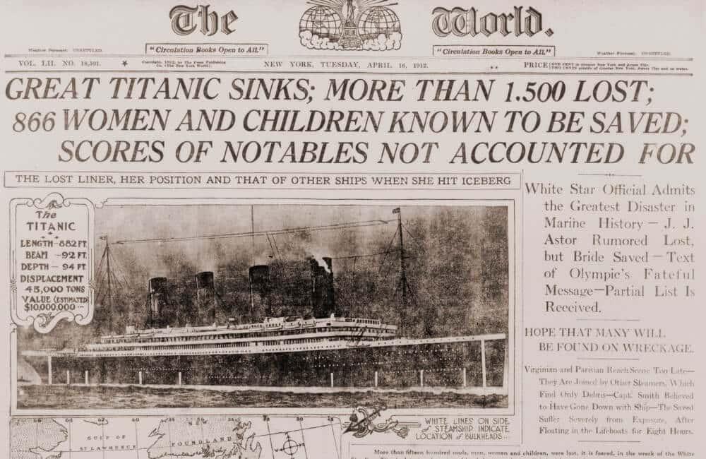 Titanic Afundado