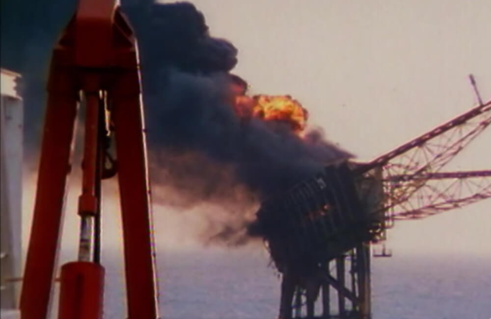 Explosion Of Piper Alpha
