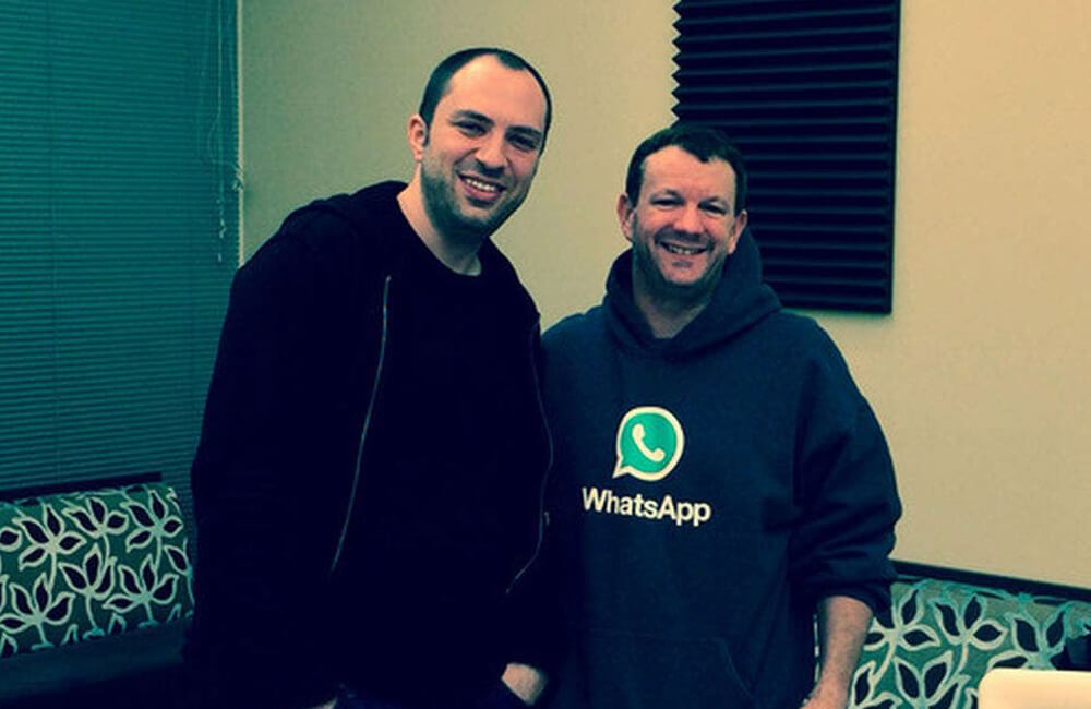 Brian Acton And Jan Koum Are Turned Down By Facebook