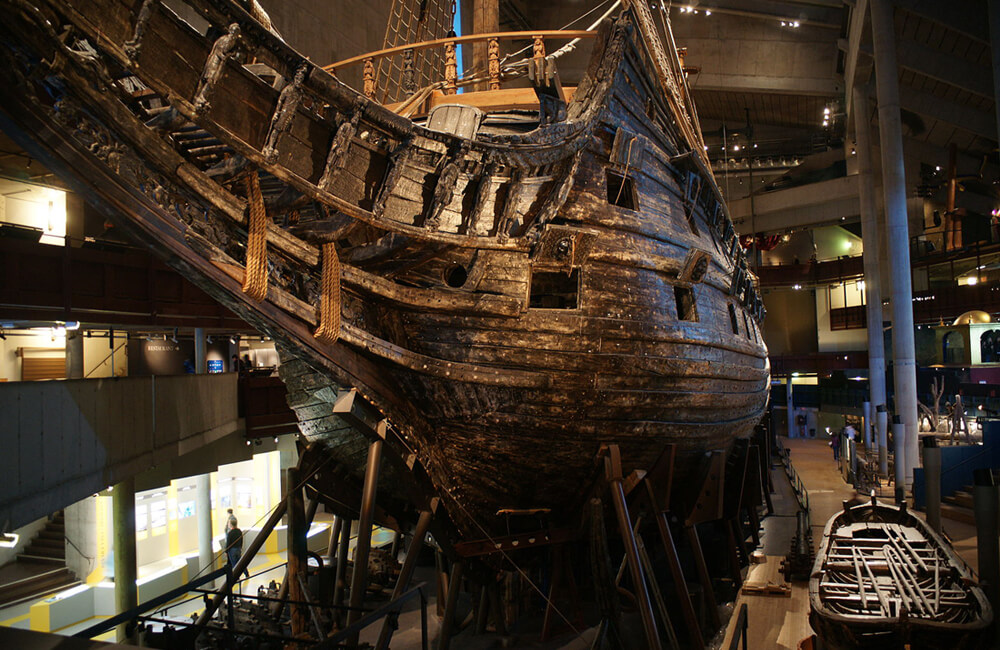 The Vasa Sinks