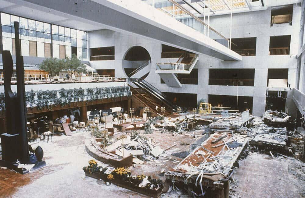 A Hyatt Regency Walkway Collapses