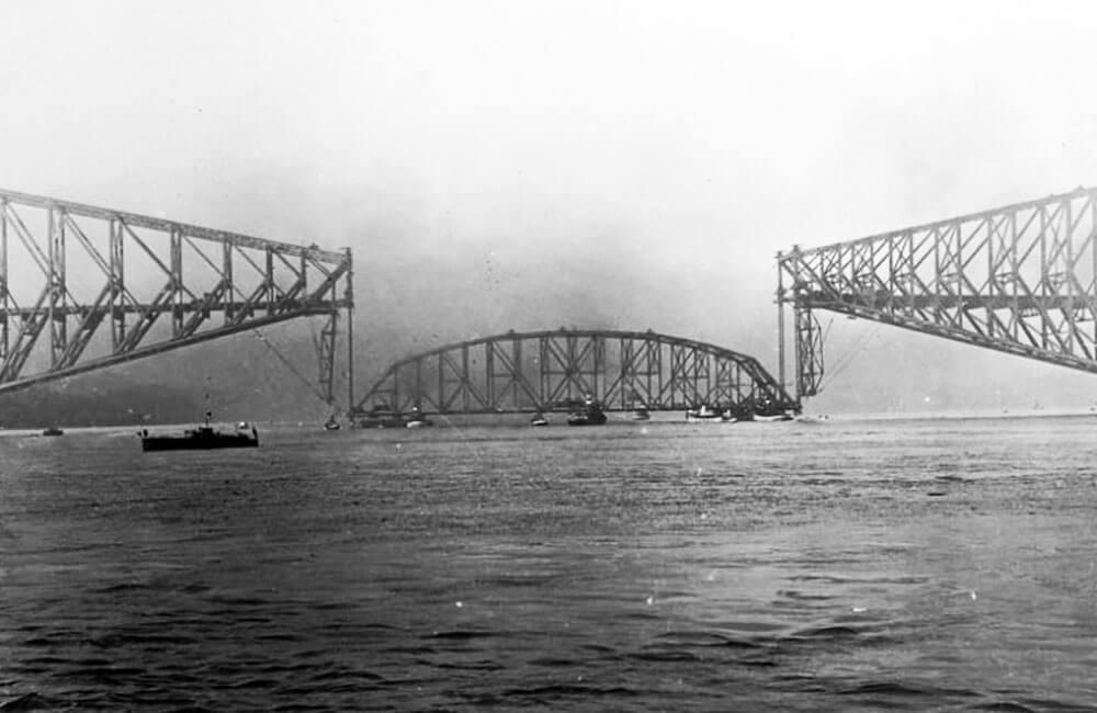 The Quebec Bridge Collapses Twice