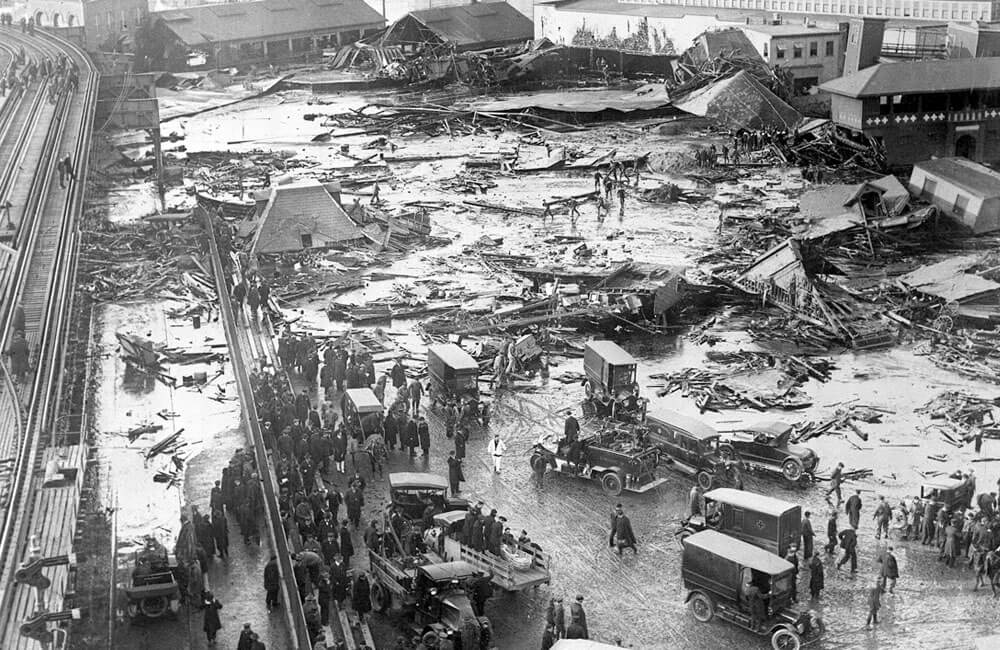 The Molasses Flood In Boston