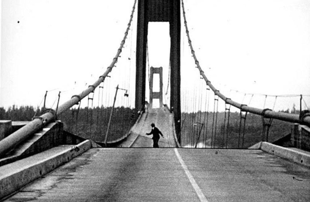 The Tacoma Narrows Bridge Collapse