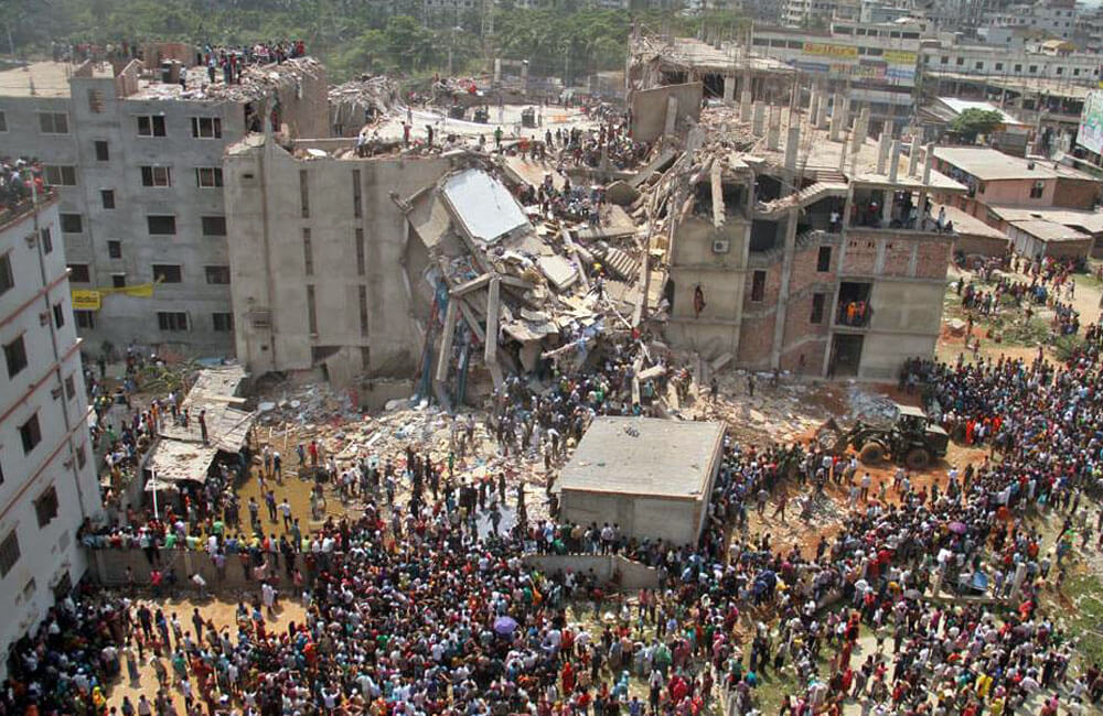 The Collapse Of Savar Building