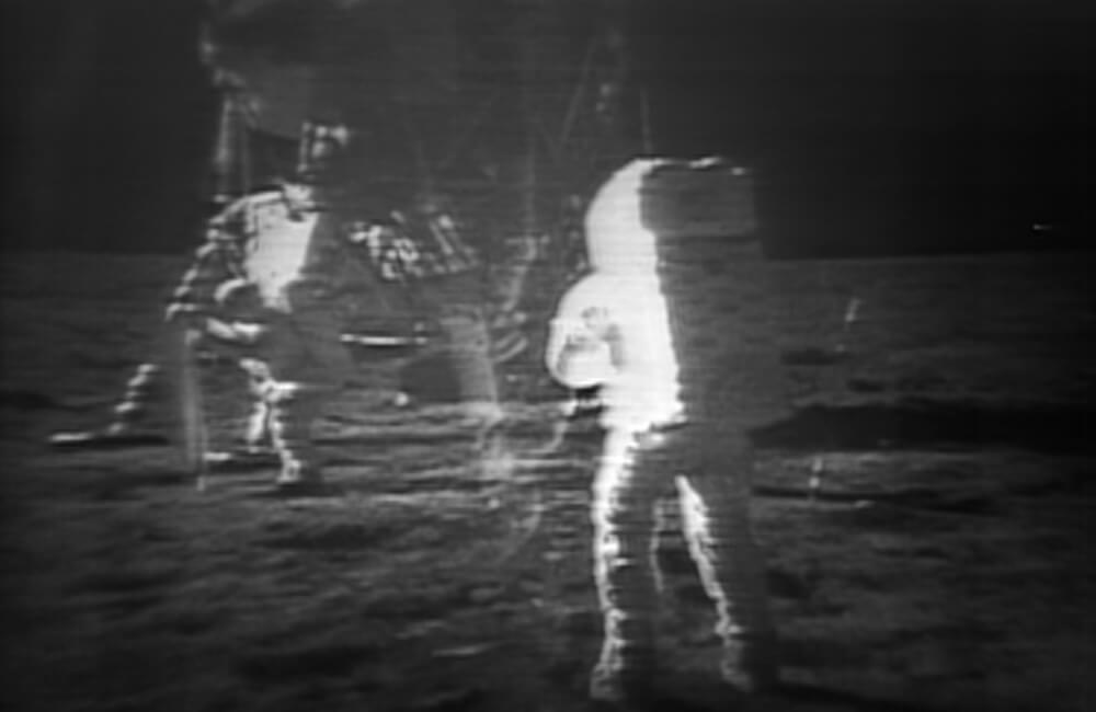 The Moonlanding Gets Accidentally Taped Over