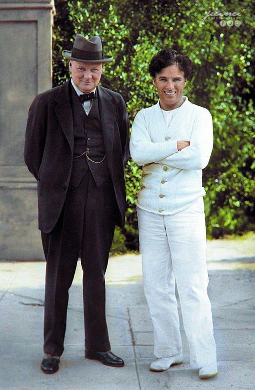 Winston Churchill And Charlie Chaplin Were Friends