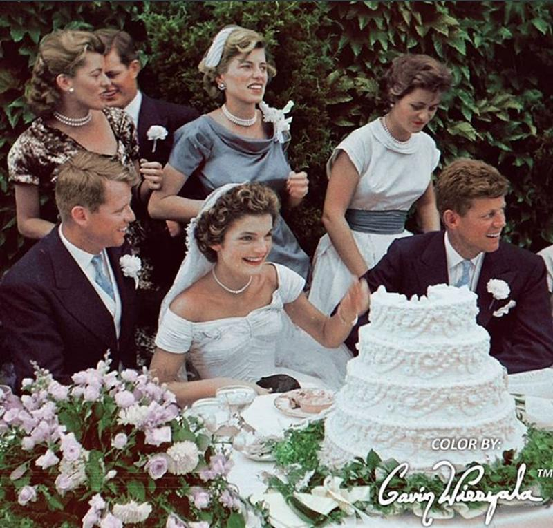 The Wedding Of John F. Kennedy And Jacqueline Bouvier