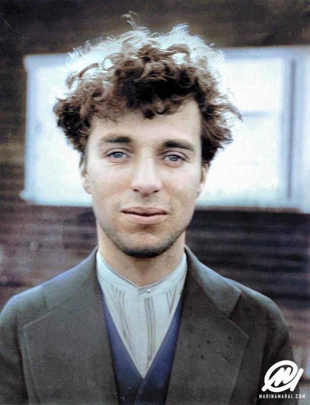 Charlie Chaplin When He Was 27 Years Old