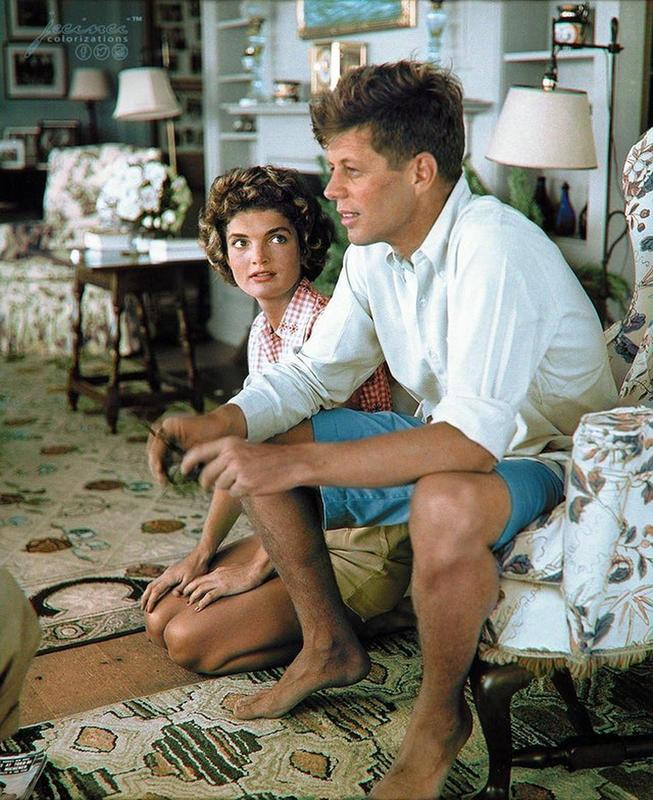 After The Engagement Of John F. Kennedy And Jackie Bouvier