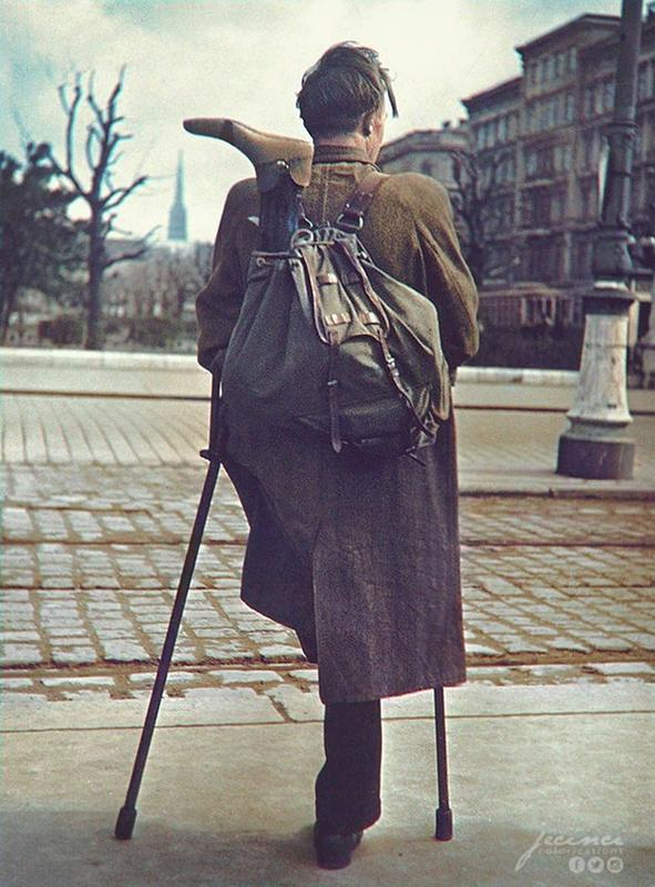 A Soldier Heading Home After The War