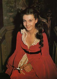 Vivien Leigh In The Role Of Scarlett O'Hara