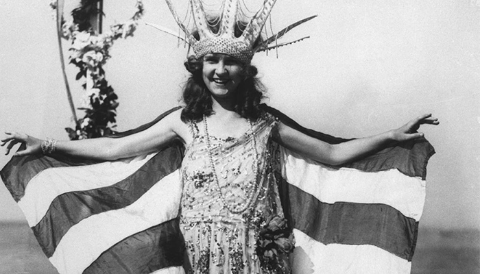 Margaret Gorman Was A Lean Beauty
