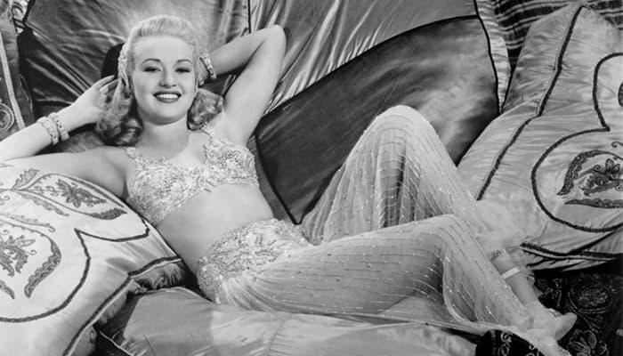 Betty Grable l'icona del tempo