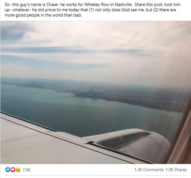 Her Facebook Post