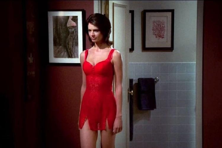 Justine Eyre Como Gabrielle Durante As Filmagens
