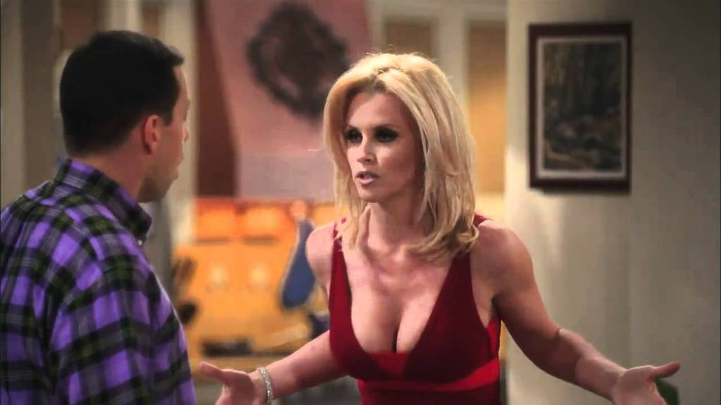Jenny McCarthy Como Courtney Leopold Durante As Filmagens