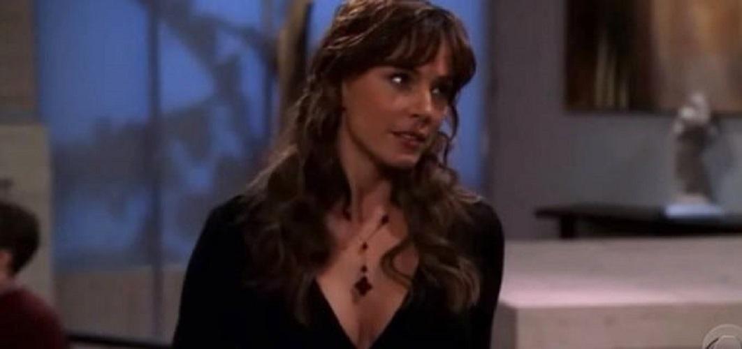 Krista Allen Como Olivia Pearson Durante As Filmagens