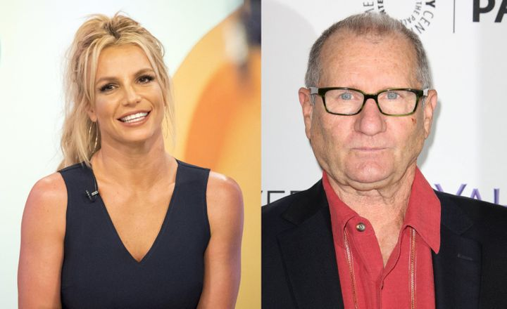 Britney Spears And Ed O'Neill