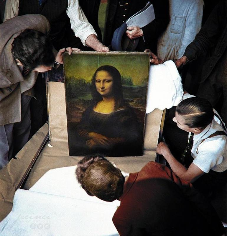 La Mona Lisa Sobrevivió A La Segunda Guerra Mundial