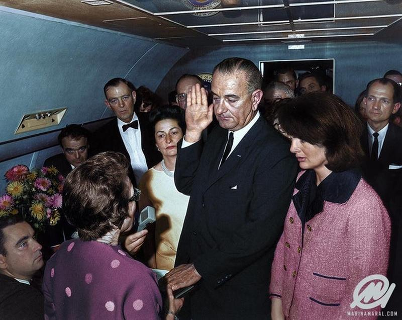 Lyndon B. Johnson Fue Nombrado Presidente En El Air Force One