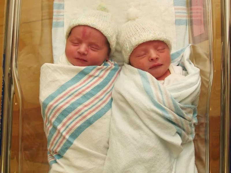 Boy And Girl Identical Twins