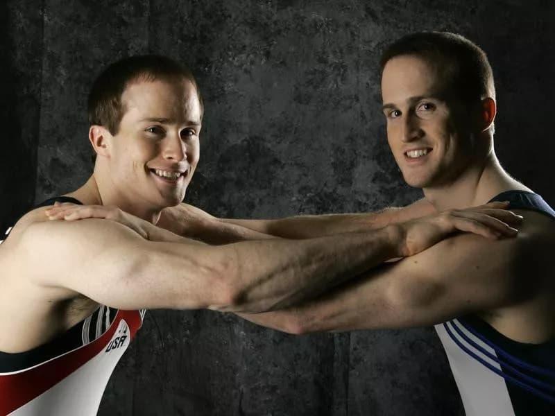 Olympic Athletes Paul And Morgan Hamm