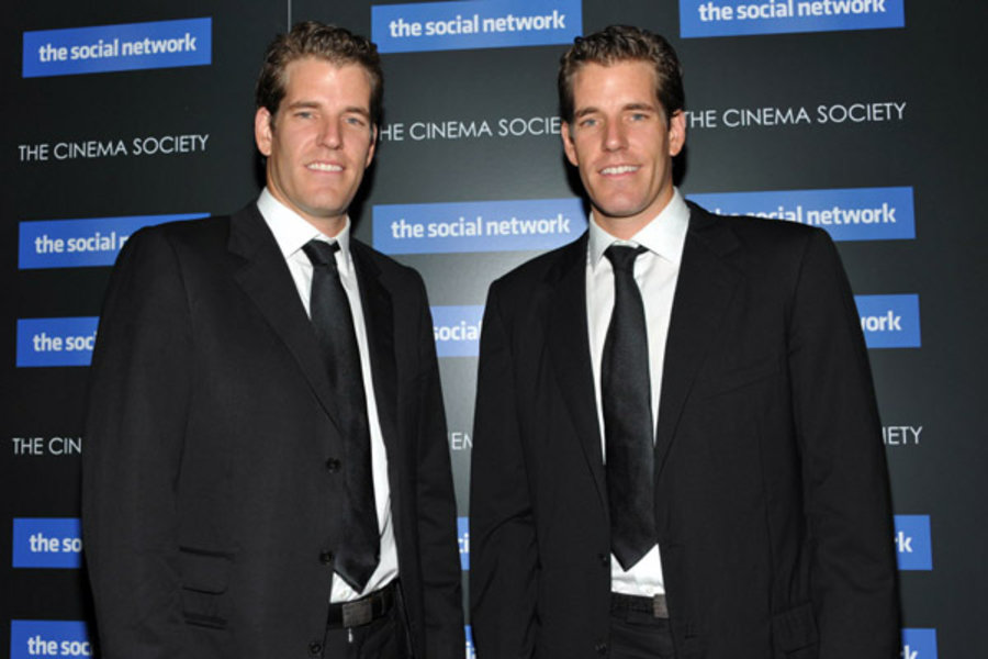Tech Twins Cameron And Tyler Winklevoss
