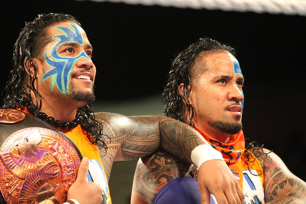 Wrestling Icons Jey And Jimmy Uso