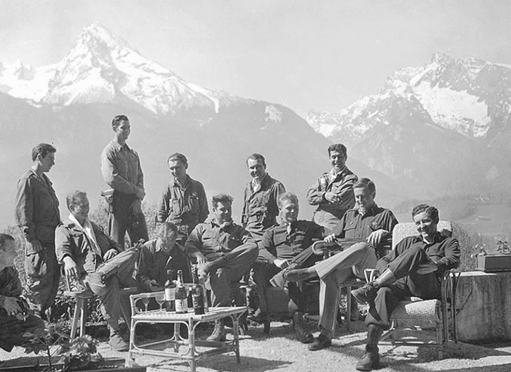 Easy Company Can Finally Relax