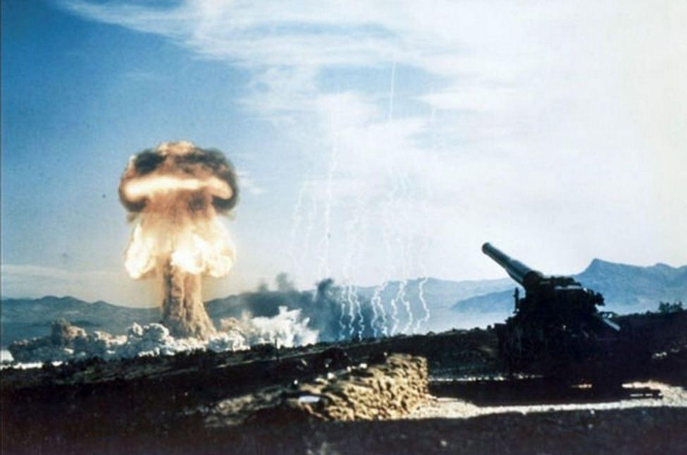 Testing Nuclear Artillery