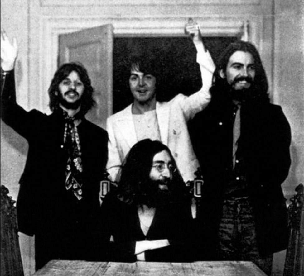 The Last Photo Of The Fab Four