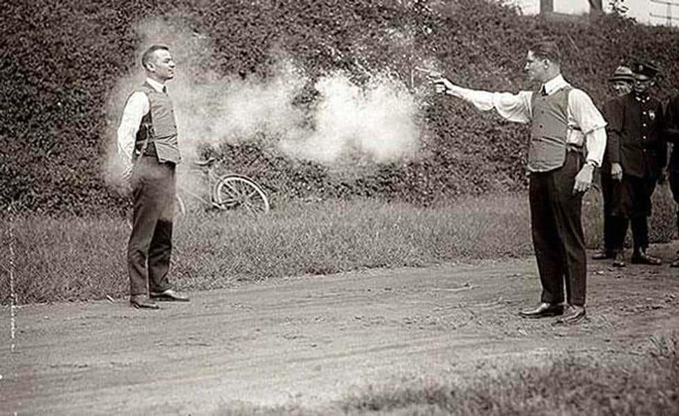 Testing A Bullet Proof Vest