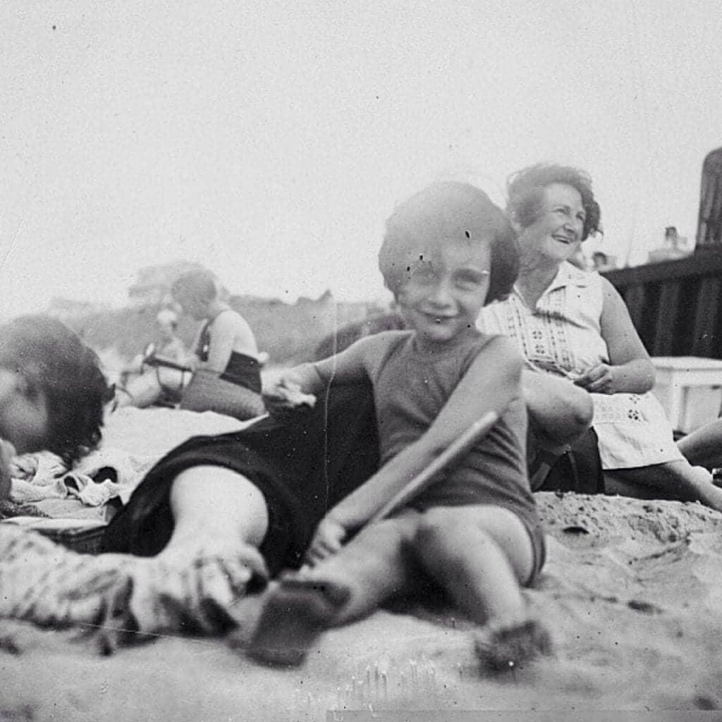 Anne Frank Having Some Fun In The Sun
