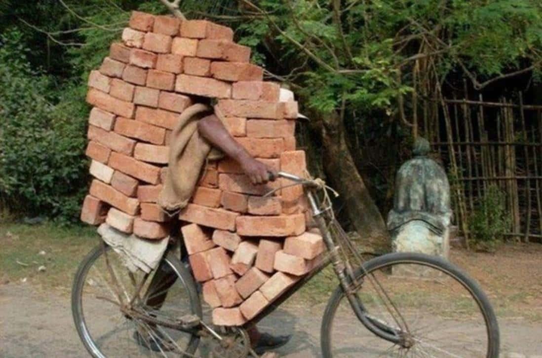 Transportar Un Muro De Ladrillo