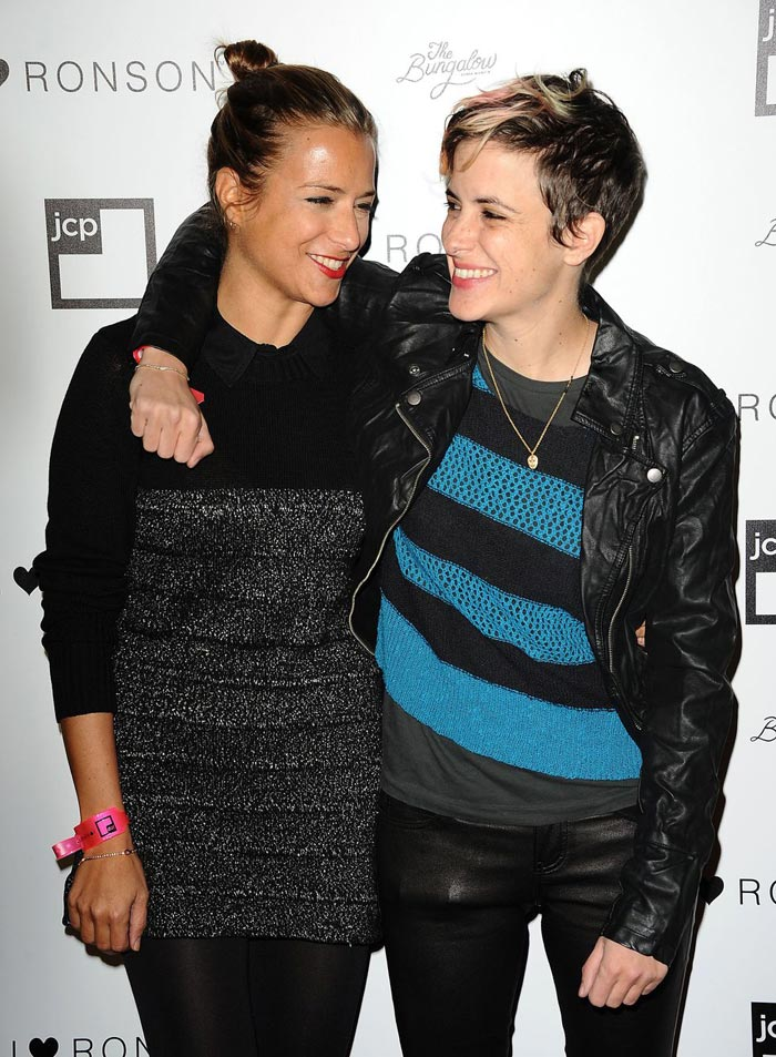 Samantha Ronson And Charlotte Ronson