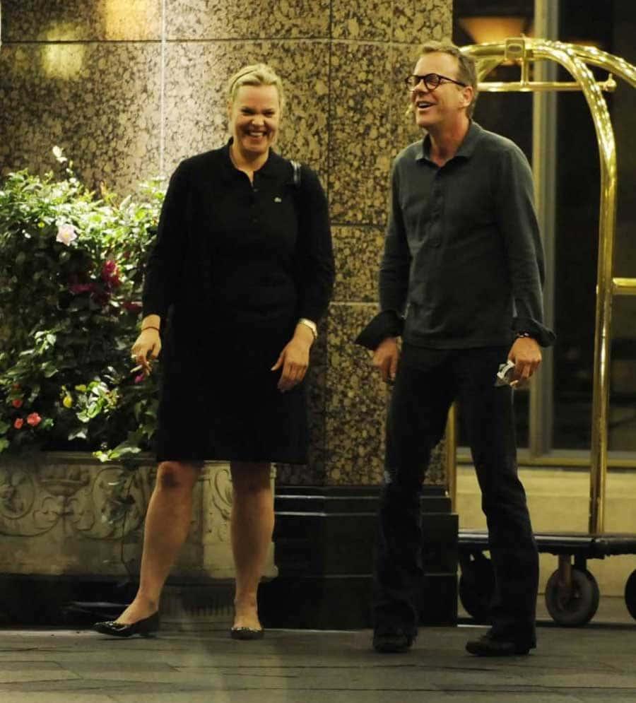Kiefer Sutherland And Rachel Sutherland 2