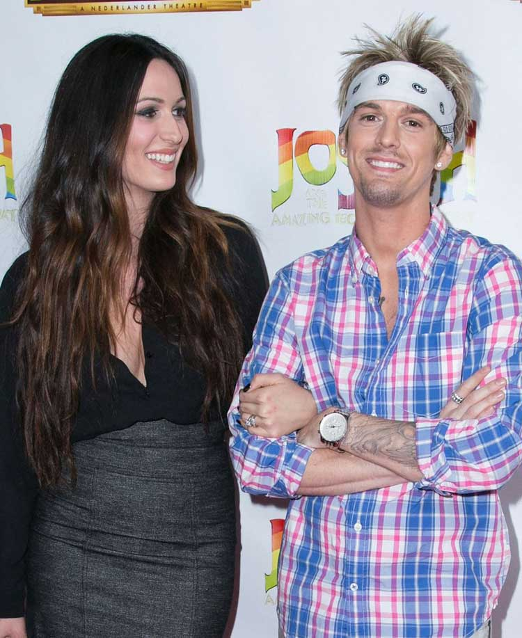 Aaron Carter And Angel Conrad