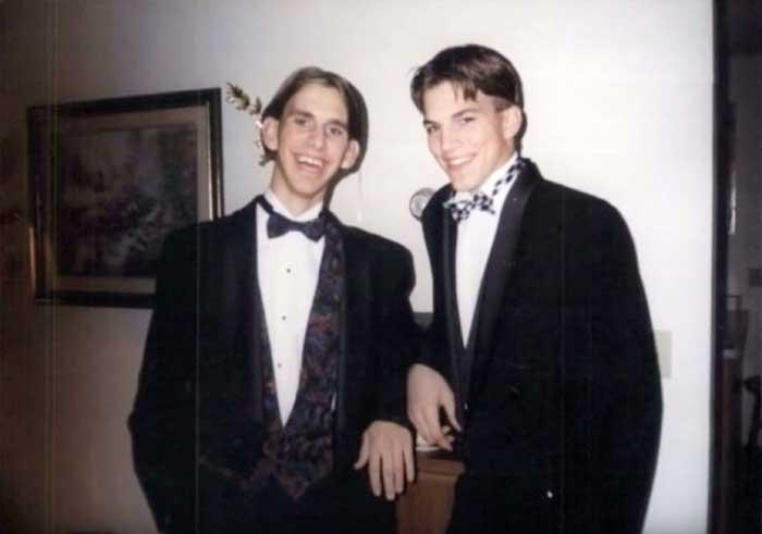 Ashton Kutcher And Michael Kutcher 2