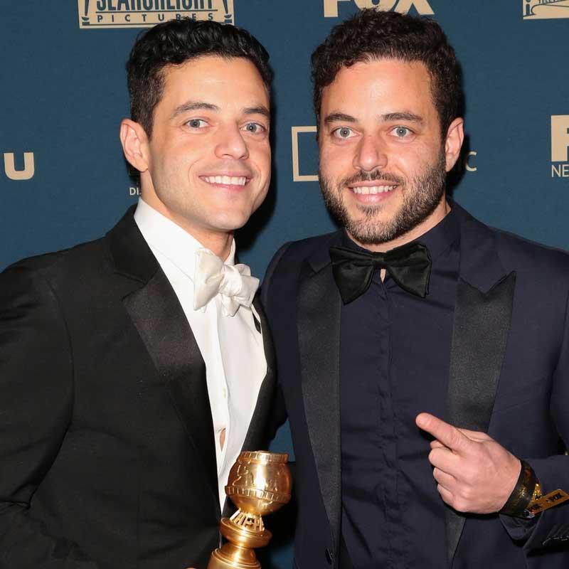 Rami Malek And Sami Malek