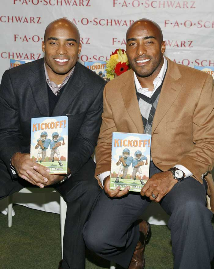 Tiki Barber And Ronde Barber