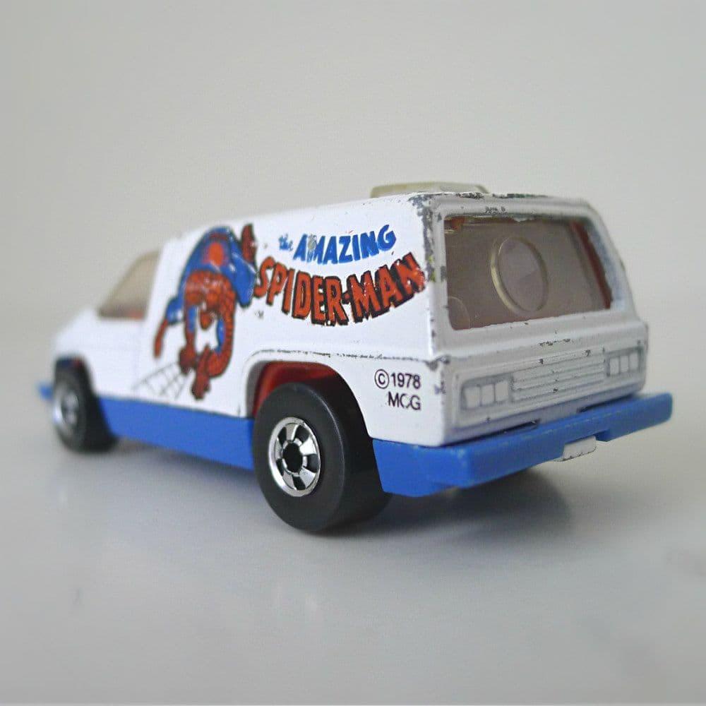 Hot Wheels Spider-Man Van From 1979 - $50