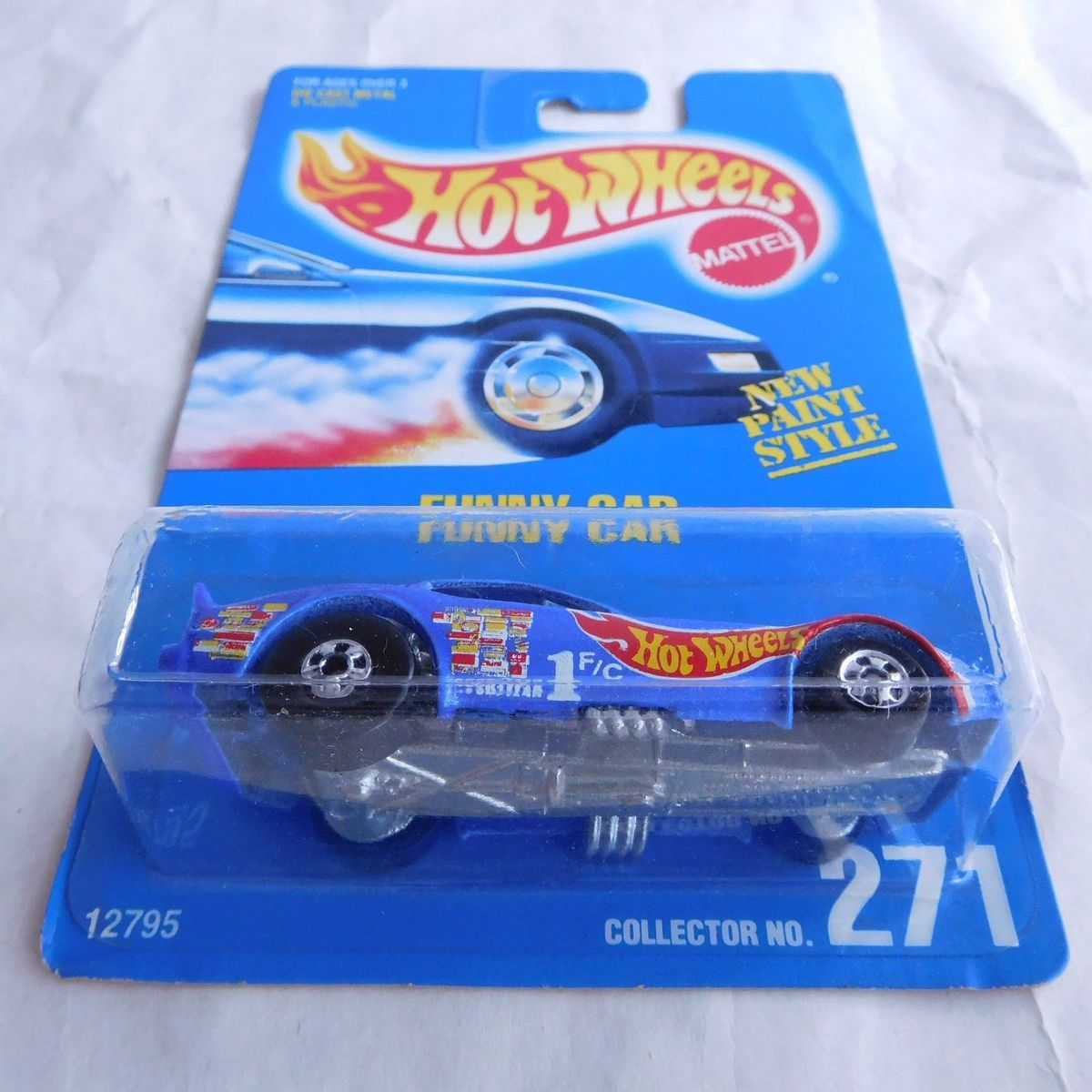 Funny Car Collector No. 271 From 1995 - $2,800