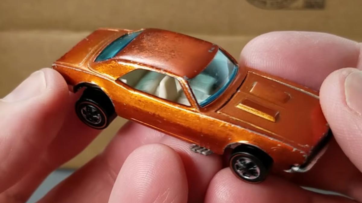 Brown Custom Camaro From 1968 - $3,000