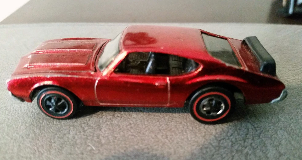 Red Oldsmobile With Black Interior From 1971 - $4,000