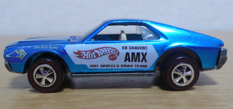 Ed Shaver Blue AMX From 1969 - $10,000